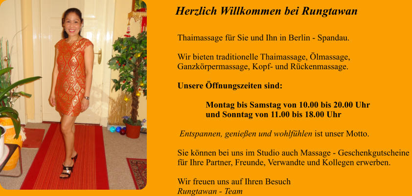 thaimassage berlin willkommen bei rungtawan thaimassage in berlin. Black Bedroom Furniture Sets. Home Design Ideas